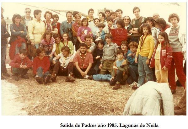Salida de padres 1985.